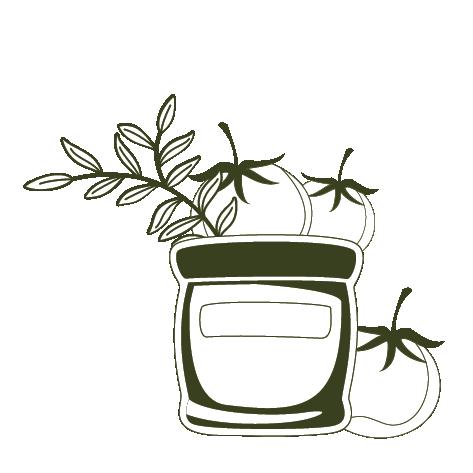 pot tomaat